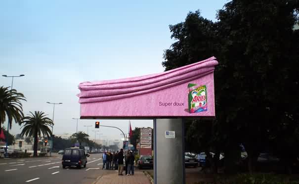 Kreativ na reklamnyh shhitah